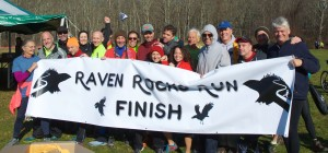 Many of the Raven Rocks Run volunteers